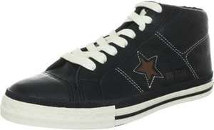 Converse One Star Mid Leather (Black und Pinecone in vielen Grössen) für 33.77 Euro @amazon.de