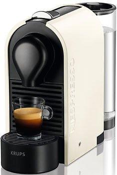 Nespresso-Maschine Krups Nespresso U XN 2501 Pure Cream für 69,80 EUR inkl. Versand