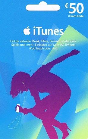 iTunes Karte zum Sparpreis 50€ für 40€ Saturn ab 26.02.2014