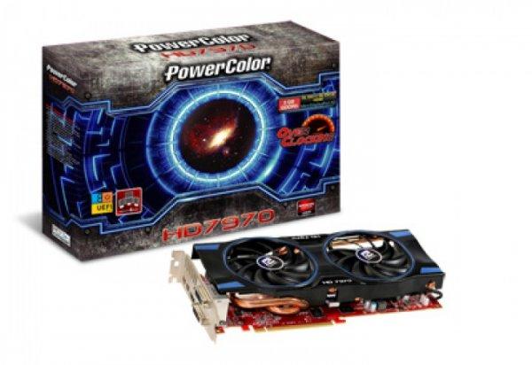 Powercolor Radeon HD7970 OC 3GB (UEFI ready) gebraucht, wie neu