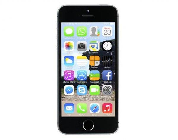 APPLE iPhone 5S 32GB Space Grau oder Silber als Apple Care Austauschgerät für 577,84 @meinpaket