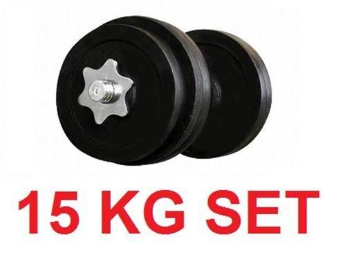 15 kg Kurzhantel-Set * Hanteln @ebay