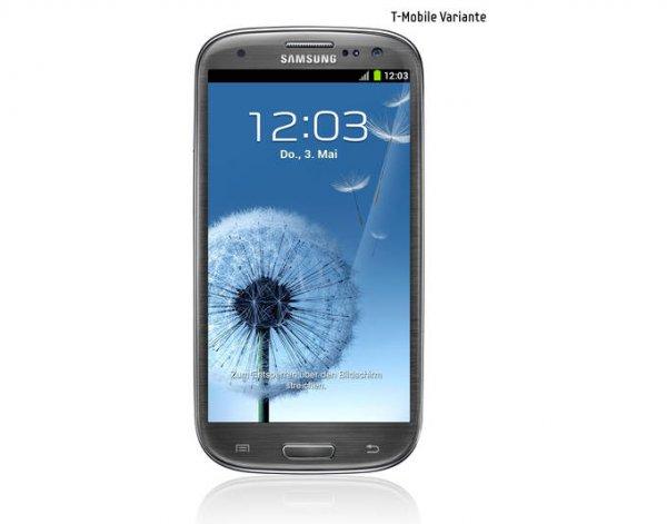 Samsung Galaxy S3 LTE i9305 Titanium Gray /White / Blue für 259,99€ @meinpaket.de