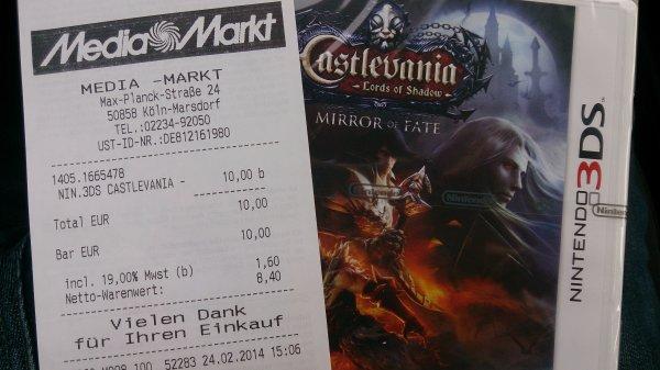 [lokal Köln] Castlevania - Mirror of Fate 3DS