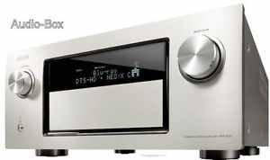 Denon AVR-4520 Premium Silber - High Definition A/V-Receiver mit 9-Kanal-Endstufe, DDSC-HD32 inkl. Denon Link HD, 4k High-Bit Video-Scaler, LAN, AirPlay und Spotify