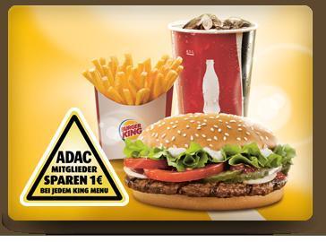 ADAC-Mitglieder erhalten bis 30.7 ein Gratis-Eis bei BurgerKing (Menükauf)
