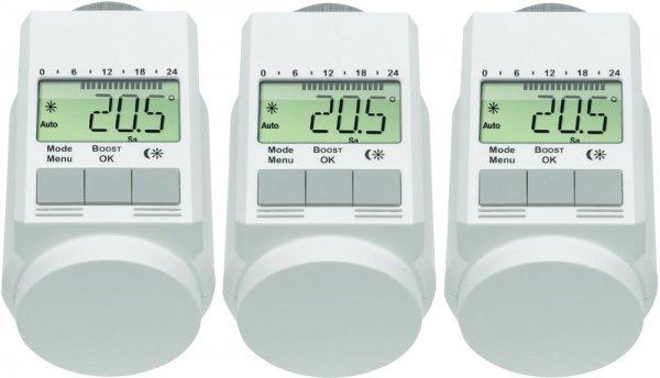 Heizkörperthermostat-Set 5 bis 29,5 °C eQ-3 L-Regler für 34,95€ @ digitalo
