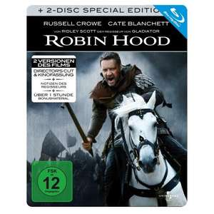 """Robin Hood"" (Bluray, 2 Disc-Steelbook) für 7,84€"