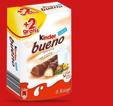PENNY Freitag & Samstag: Kinder Bueno für 1,29€! [6+2 gratis]