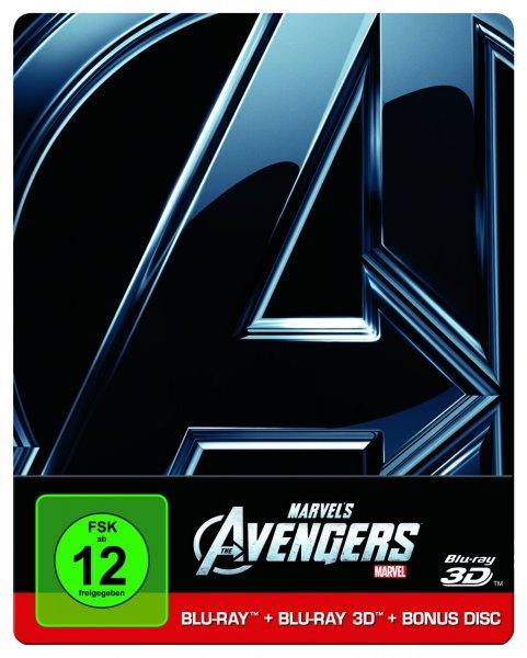 [amazon] Marvel Avengers Steelbook 3D wieder vorbestellbar 26,99€