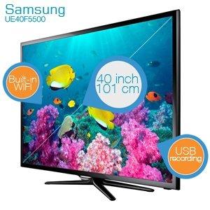 "Samsung UE40F5500 40"" LED Smart TV [iBood]"