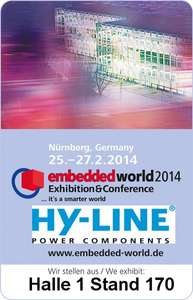 Embedded World 2014 ( Nürnberg ) Gratis Ticket