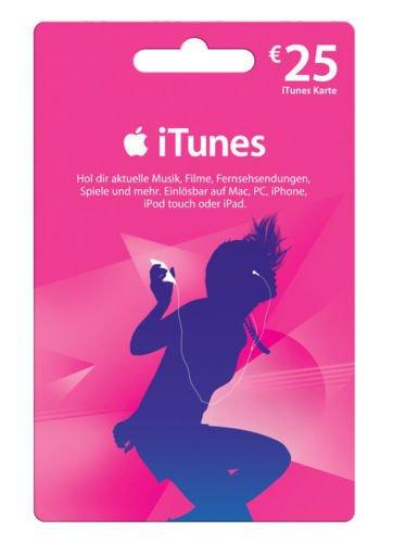 Ebay: 25€ iTunes Guthaben für 20,19€ (E-Mail-Versand)