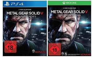[Bücher.de] Metal Gear Solid V: Ground Zeroes (Xbox One/PS4/ X360/PS3) für 25,00 € inkl. Versand
