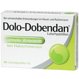 Dolo Dobendan Lutschtabletten - Deal gegen Halsweh - sehr günstig bei Mediflott 1x = 6,93€; 2x = 4,95€/Packung . .