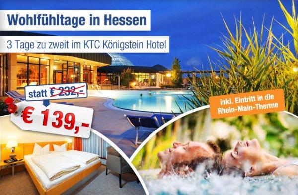 Königstein inkl. Therme: 3 Tage zu zweit nur 139 statt 232 EUR