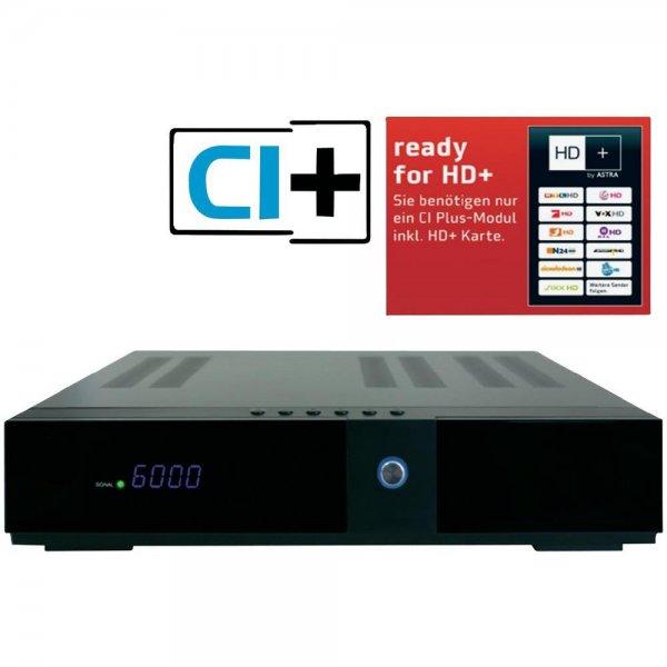 HD-SAT-Receiver Easy One HX 44 Twin Tuner für 59,95€ Versandkostenfrei bei Conrad