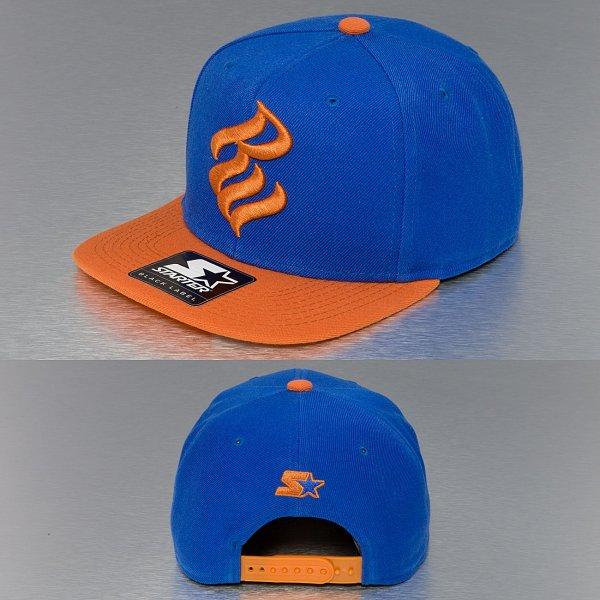 Rocawear Flame Snapback Kappe Blau