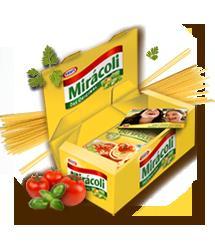 Spagetthi umsonst! Miracoli Pakete