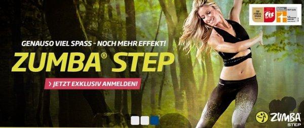 ZUMBA® STEP, trainiere 1 Woche kostenfrei in März