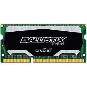 Crucial Ballistix SO-DIMM 8GB, DDR3L-1600, CL9-9-9-24