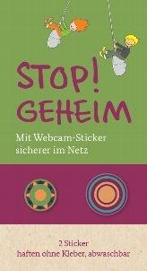 Anti-Webcam-Sticker vom Familienministerium (MAX 5 BÖGEN)