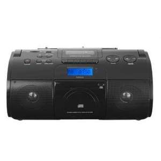 Lenco SCR-1000 Schwarz (Boombox mit USB, MP3, SD, AUX-Eingang) nur 49,99€