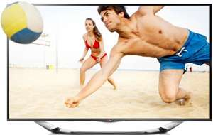 55Zoll 3D-LED TV LG LA6918 + 3D Camcorder + Iron Man 3 3D BluRay