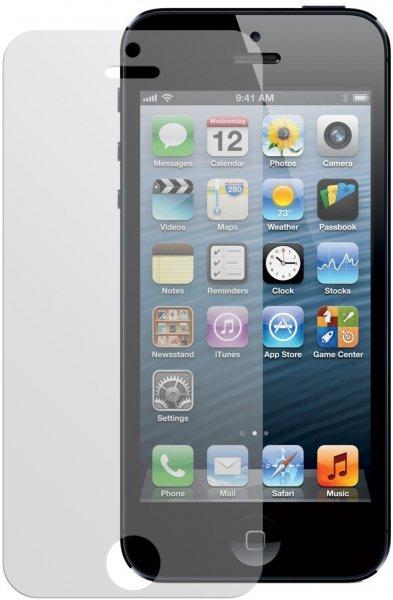 4x Dipos Antireflex Displayschutzfolie für iPhone 5 + 5S Vorder- und Rückseite @Amazon