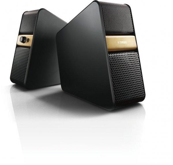 [amazon.it] Yamaha NX-B55 Schwarz-Gold - Bluetooth Lautsprecher TV und PC  inkl. Vsk für 125,32 €