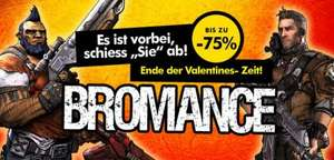Gamesplanet Bromance Deal [Borderlands 2, Civilization IV & V, etc. -75%]