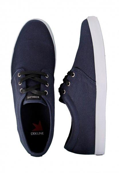 Dekline - River Midnight - blaue Sommer Sneaker