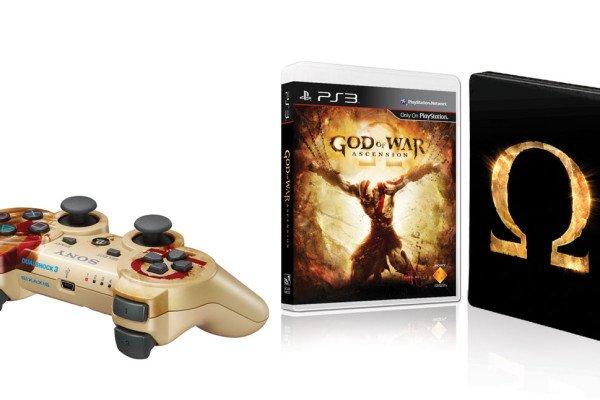 God of War: Ascension Special Editon + Joypad Sony God of War Design