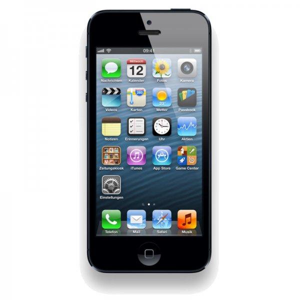 Apple Iphone 5 64GB +60€ MM Gutschein für 529€ @ mediamarkt.de