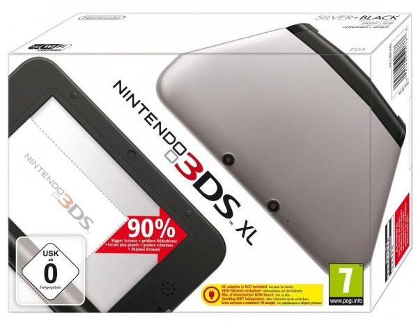 [eBay] Nintendo 3DS XL silber / schwarz 124 €