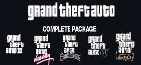 [Steam] GTA III+IV - Grand Theft Auto Complete Package @ Nuuvem