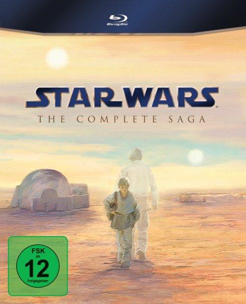 Star Wars - Complete Saga I-VI  (Blu-ray) für 66,00 Euro!