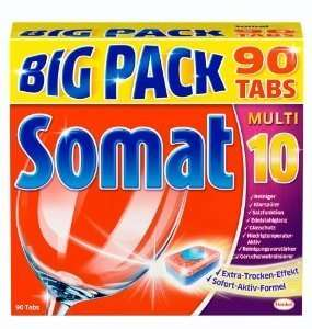 Somat 10 Geschirrspül-Tabs 5x BigPack 450 Stk. !B-Ware! @ Amazon