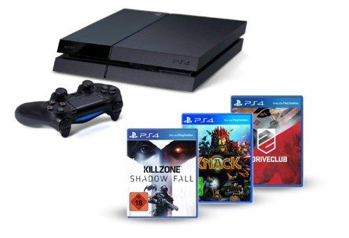 PS4 + Killzone: S.F., Knack + DriveClub vorbestellen