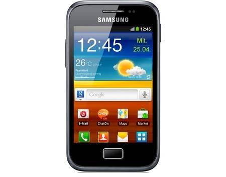 Samsung Galaxy Ace Plus S7500 schwarz B-Ware für 46 Euro @MeinPaket