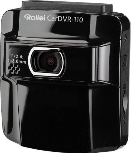Rollei CarDVR-110 GPS Auto-Kamera mit Mikrofon (Full HD, Weitwinkel-Objektiv) schwarz  @ebay 109