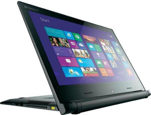"Lenovo Ideapad FLEX14 D Convertible Touch Notebook 35.6 cm (14"") schwarz/silber 4GB HD 8570M inkl. Windows® 8.1"