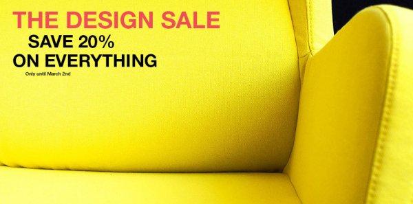 Nur noch heute: 20% auf alles bei bolia.com (skandinavische Design Möbel)