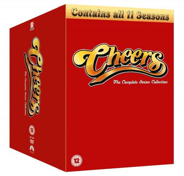 Cheers komplett als DVD Box in Englisch bei amazon.it