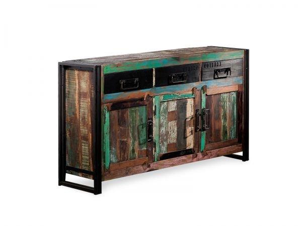 Wunderschönes Massivum Sideboard aus recyceltem Holz zum Hammerpreis
