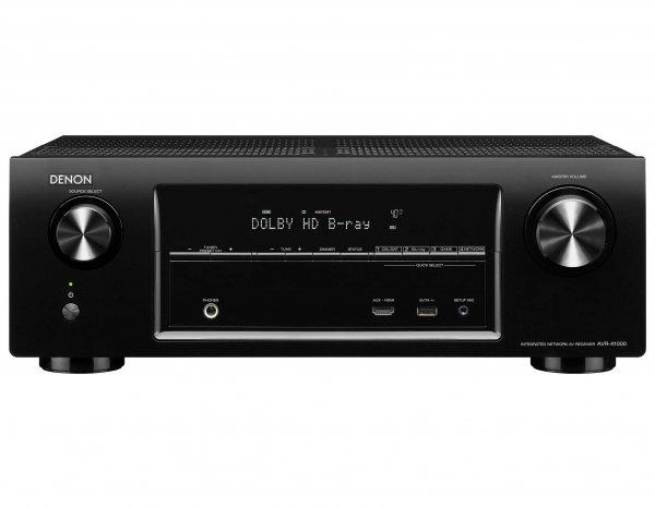[Amazon WHD] Denon AVR-X1000 5.1 Surround AV-Receiver (Internet-Radio, HDMI, DLNA-Streaming, AirPlay, 145 Watt) schwarz für 272,57 Euro