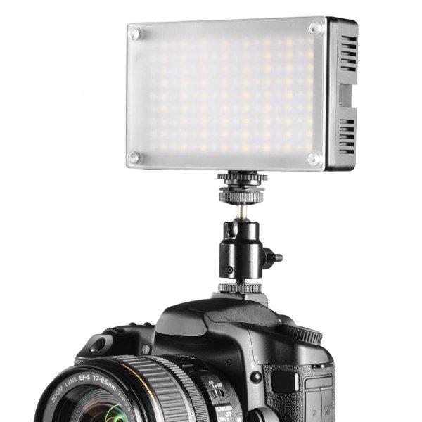 Walimex Pro LED-Videoleuchte (Bi-Color, 144 LEDs)