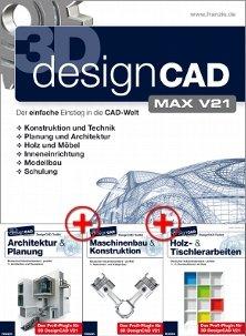 Franzis Verlag: DesignCAD 3D Max v21 +3 Toolkits für insg. 19€