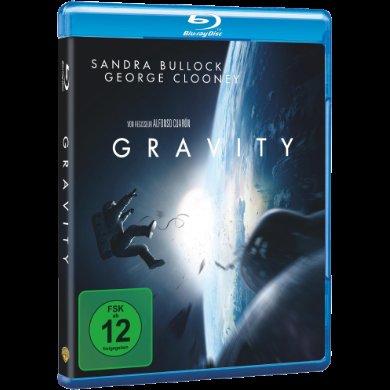 Media Markt - Oscar Filmnacht Angebot diverse Topfilme - Gravity BD 14,99 DVD 9,99