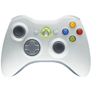 Xbox 360 Wireless Controller Weiss und Schwarz für 24€ @Zavvi
